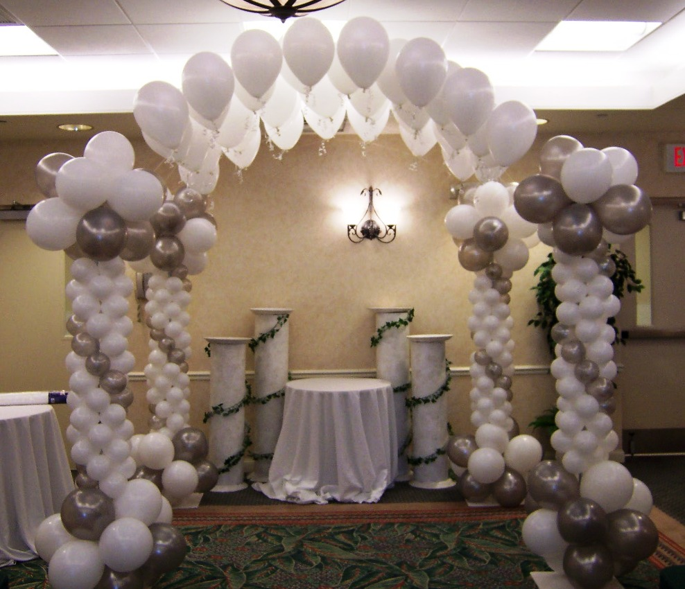 Helium balloons table decorations images for Helium balloon decoration